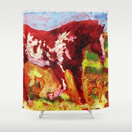 Overo Shower Curtain