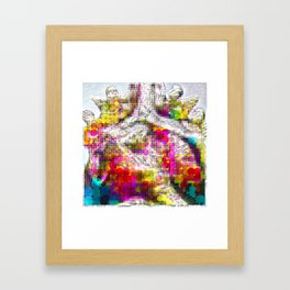 Monday 13 January 2014: Have we ever been other than borrowing attributes? Framed Art Print