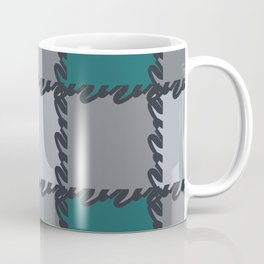 check it -teal Coffee Mug