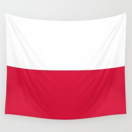 Flag of Poland - Authentic (High Quality Image) Wall Tapestry