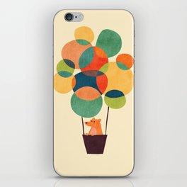 Whimsical Hot Air Balloon iPhone Skin
