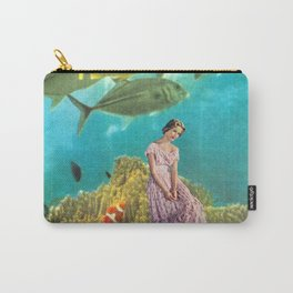 'It's Lonely Down Here' // Under the Sea Carry-All Pouch