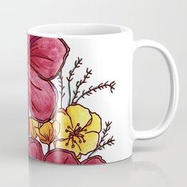 Wild Flowers Design Coffee Mug