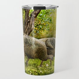 Wild Turkeys Travel Mug