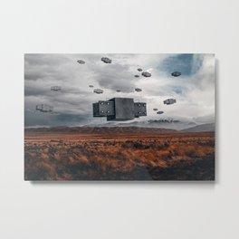 A Desolate Arrival Metal Print