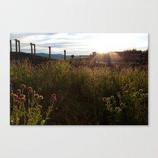 Light's Last Whisper Canvas Print