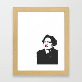 THE Woman from Sherlock Framed Art Print