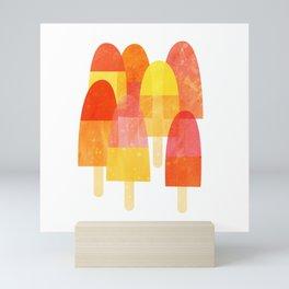Ice Lollies and Popsicles Mini Art Print