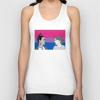 bisexual Tank Tops featuring Bisexual Pride by Grace Teaney Art