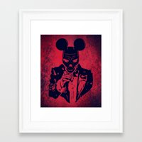 mickey Framed Art Prints featuring Mickey by Spyck