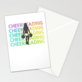 Cheerleader Uniform Navarro Team Stationery Cards