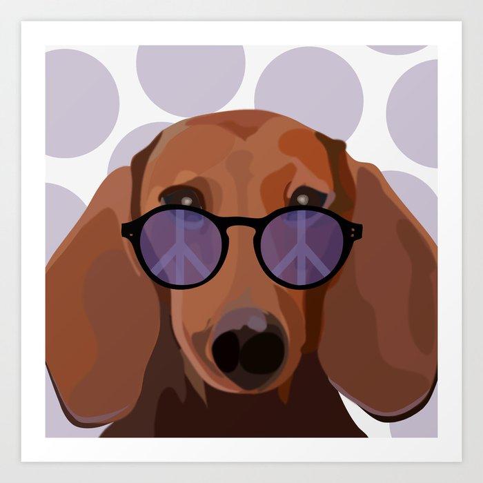 dachshund Kunstdrucke