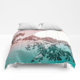 Leopard and the mountains Comforters