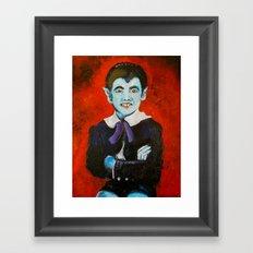 The Munsters Eddie Munster Framed Art Print