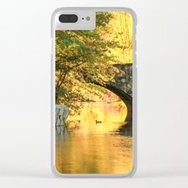 Clove Lake Park Clear iPhone Case