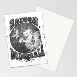 Saigon Dodgeball Stationery Cards
