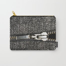 A opening zip Carry-All Pouch