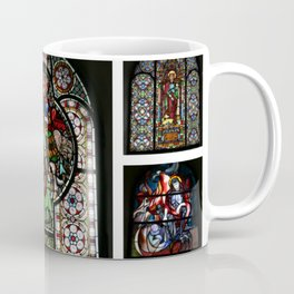 Stained Glass Windows Collage Coffee Mug