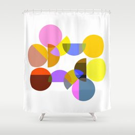 Abstract 2019 013 Shower Curtain