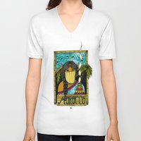 morocco V-neck T-shirts featuring Morocco by ZANA