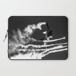 Belgian F16 and Flares Laptop Sleeve