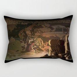 Parasomnia 04  Rectangular Pillow