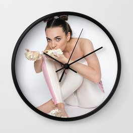 Accidental Cake Wall Clock