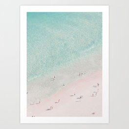 sea bliss - clearly Art Print