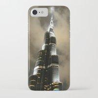 wiz khalifa iPhone & iPod Cases featuring Burj Khalifa - Dubai by Ruby_Dag