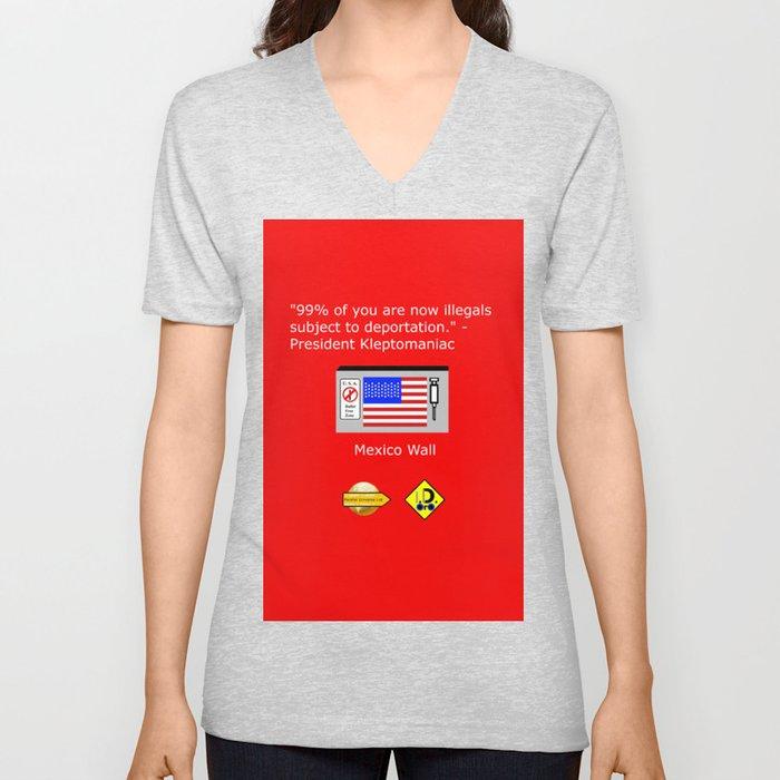 99% of Americans Unisex V-Neck