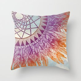 dreamcatcher: mining for the meaning Throw Pillow