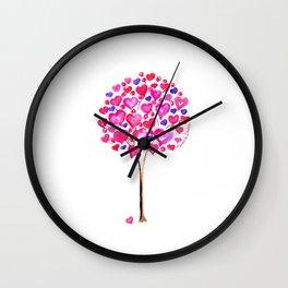 Love Tree Wall Clock