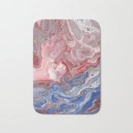 Red & Blue Bath Mat