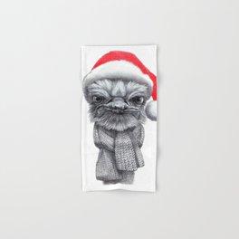 Christmas Ostrich red G145 Hand & Bath Towel