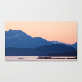 Cool Mountains & Warm Skys Canvas Print