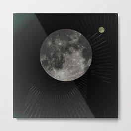 moon - 1Q84 inspired Metal Print