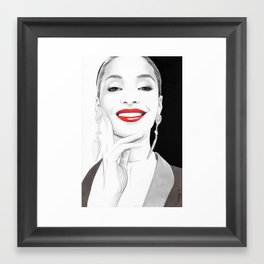 """Jourdan"" Framed Art Print"