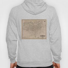 Vintage Map of Louisville Kentucky (1873) Hoody