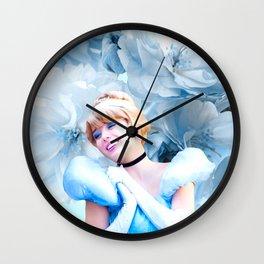 CINDERELLA - BLUE DREAM Wall Clock