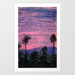 North View Art Print