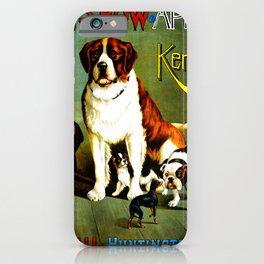 New England Dog Show 1890 iPhone Case