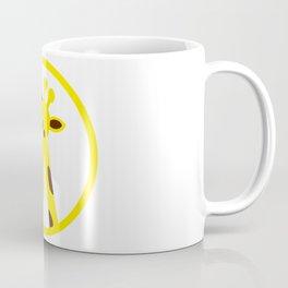 Cartoon Giraffe Icon Coffee Mug