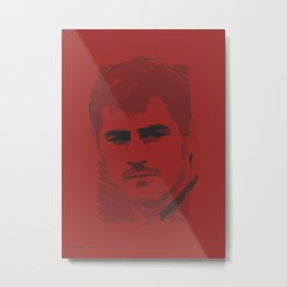 World Cup Edition - Iker Casillas / Spain Metal Print