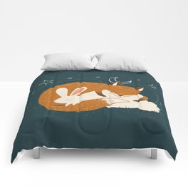 The Fox and the Hare Comforters