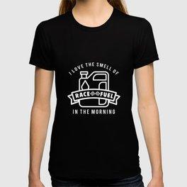 Race Car Fuel Funny Apparel T-shirt