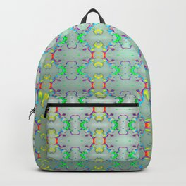Softly colorful classic pattern ... Backpack