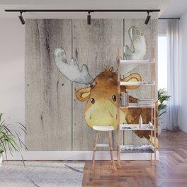 Woodland Friends - Little Deer In Forest Wall Mural