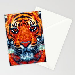 Tiger - Colorful Animals Stationery Cards