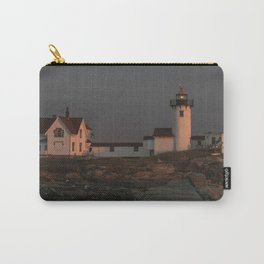 Eastern Point Lighthouse at sunset Carry-All Pouch