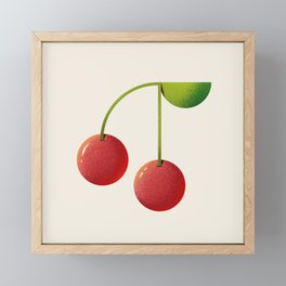 Cheery Cherries Framed Mini Art Print